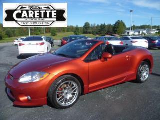 Used 2008 Mitsubishi Eclipse GT-P SPYDER for sale in East broughton, QC