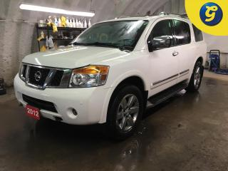 Used 2012 Nissan Armada PLATINUM*4WD*NAVIGATION*SUNROOF*LEATHER INTERIOR*REVERSE CAMERA*DVD BLU-RAY TV*COLLISION SENSORS*TOUCH SCREEN*BOSE SOUND SYSTEM*HANDS FREE STEERING WH for sale in Cambridge, ON