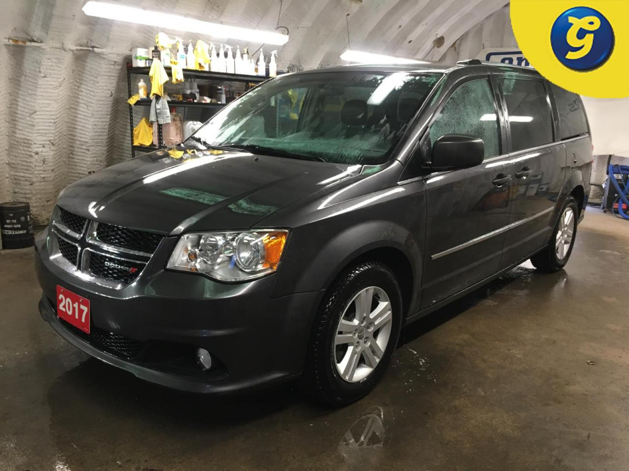 Used 2017 Dodge Grand Caravan CREW PLUS*STOW N GO*LEATHER*POWER