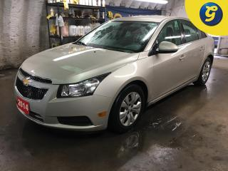 Used 2014 Chevrolet Cruze 1LT*PHONE CONNECT*ON STAR*REMOTE START*STEERING WHEEL CONTROL/VOICE RECOGNITION*TELESCOPIC STEERING WHEEL*CHILD LOCK WINDOWS*KEYLESS ENTRY* for sale in Cambridge, ON