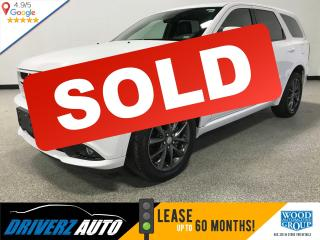 Used 2018 Dodge Durango GT CLEAN CARFAX, LEATHER, SUNROOF for sale in Calgary, AB