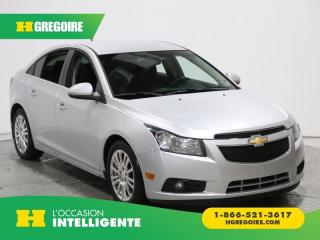 Used 2012 Chevrolet Cruze ECO A/C GR ELECT for sale in St-Léonard, QC