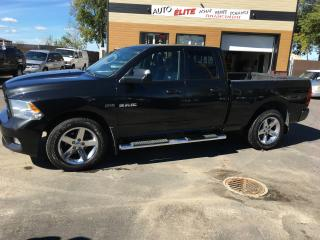 Used 2010 Dodge Ram 1500 Cabine quad 4RM, 140,5 po ST for sale in St-Sulpice, QC