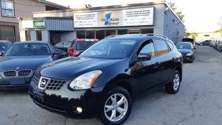 Used 2009 Nissan Rogue SL LEATHER, P-MOON, BLUETOOTH for sale in Etobicoke, ON
