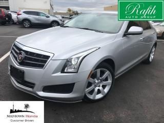 Used 2013 Cadillac ATS LCV RWD-NEW tires-Super clean for sale in North York, ON