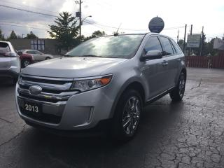 Used 2013 Ford Edge SEL LOADED WITH OPTIONS! NAV! for sale in Brantford, ON