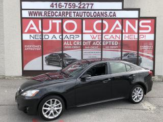 Used 2013 Lexus IS 250 IS-250 ALL CREDIT APPROVED for sale in Scarborough, ON