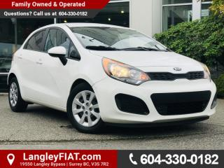 Used 2014 Kia Rio LX+ B.C OWNED! for sale in Surrey, BC