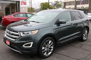 Used 2015 Ford Edge Titanium PANORAMIC. LEATHER. NAVIGATION. CAMERA for sale in Toronto, ON