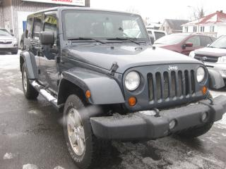 Used 2007 Jeep Wrangler Sahara Unlimited 4X4 2 tops AC Cruise PL PW for sale in Ottawa, ON
