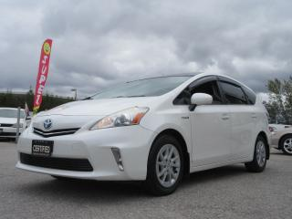 Used 2012 Toyota Prius v TECH / LEATHER / GLASS ROOF / ALLOYS / TOYOTA SERV for sale in Newmarket, ON