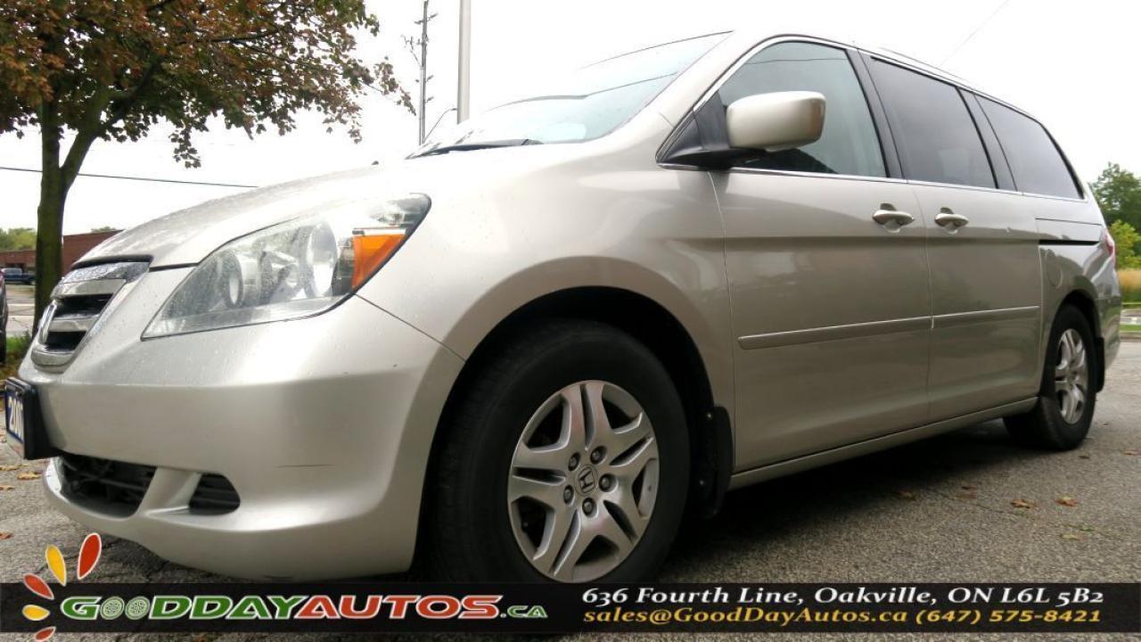 2007 Honda Odyssey EXL ALLOYS|SUNROOF|HEATED SEATS|NO SCCIDENT