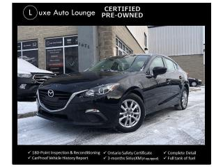 Used 2015 Mazda MAZDA3 GS LOW KM! HEATED SEATS, BACK-UP CAMERA, CPO! for sale in Orleans, ON