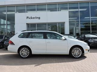 Used 2014 Volkswagen Golf Wagon Wolfsburg TDI 0% Finance - Navigation - Keyless for sale in Pickering, ON