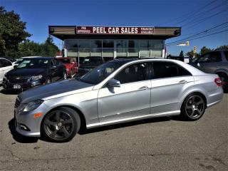 Used 2010 Mercedes-Benz E-Class E350|NAV|PANOROOF|REARVIEW|ALLOYS|CERTIFIED& MORE! for sale in Mississauga, ON