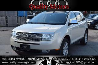 Used 2007 Lincoln MKX panoramic roof for sale in Etobicoke, ON