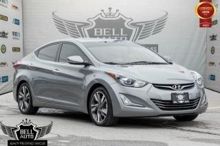 Used 2015 Hyundai Elantra LIMITED NAVIGATION SUNROOF LEATHER BACK-UP CAMERA for sale in Toronto, ON