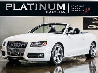 Used 2010 Audi S5 3.0T Quattro TECHNIK, NAV, BANG&OLUFSEN, Blindspot for sale in Toronto, ON
