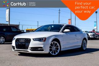 Used 2016 Audi A5 Coupe Komfort|Quattro|Navi|Sunroof|Bluetooth|Leather|Heated Front Seats|18