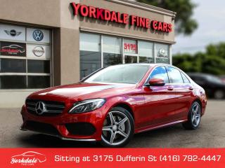 Used 2016 Mercedes-Benz C-Class C300 4Matic.AMG. Panoramic. Navigation. Cmaera. Blind spot assist for sale in Toronto, ON