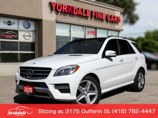 Used 2015 Mercedes-Benz ML-Class ML350 BlueTEC. 4Matic. AMG. Panoramic. Navigation.AMG. Distronic System for sale in Toronto, ON