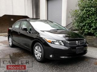 Used 2012 Honda Civic LX for sale in Vancouver, BC
