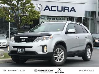 Used 2014 Kia Sorento 2.4L LX FWD at - LX FWD for sale in Markham, ON