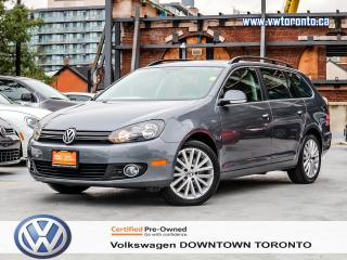 Used 2014 Volkswagen Golf Wagon 0% FINANCING WOLFSBURG TDI for sale in Toronto, ON