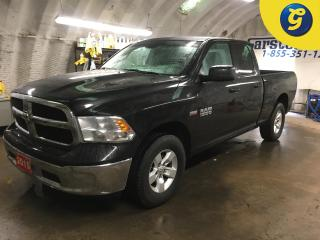 Used 2015 RAM 1500 SXT*QUAD CAB*4WD*HEMI*CHROME BUMPERS*TRAILER HITCH RECEIVER W/PIN CONNECTOR*BED LINER*TOW/HAUL MODE*STEERING WHEEL CONTROL*POWER WINDOWS/MIRRORS/LOCKS for sale in Cambridge, ON
