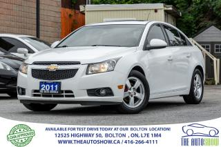Used 2011 Chevrolet Cruze SUNROOF LT Turbo+ w/1SB ALLOYS for sale in Bolton, ON
