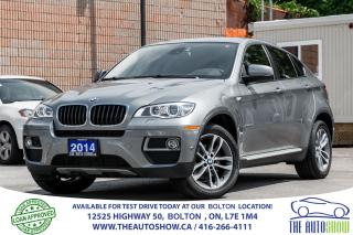Used 2014 BMW X6 No Accidents NaviGPS RearCam Certified Serviced for sale in Bolton, ON