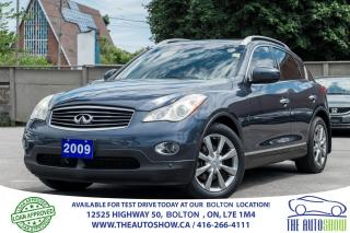 Used 2009 Infiniti EX35 TECH. NAVI GPS REAR CAM CERTIFIED CLEAN for sale in Bolton, ON
