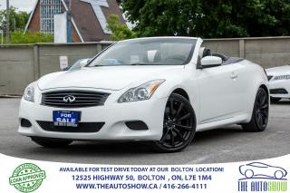 Used 2009 Infiniti G37 Sport Technology Navigation for sale in Bolton, ON