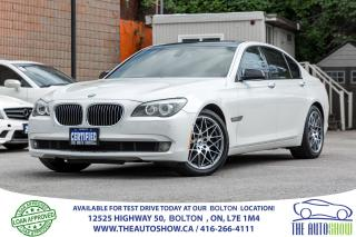 Used 2009 BMW 7 Series 750i Navi GPS Sports pkg Certified Accident free for sale in Bolton, ON