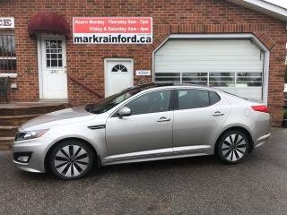 Used 2013 Kia Optima SX GDI Leather Pano Roof Navigation Back up Cam BT for sale in Bowmanville, ON