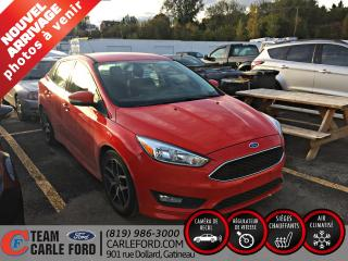 Used 2017 Ford Focus Ford Focus se 2017, bluetooth, caméra de for sale in Gatineau, QC