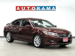 Used 2014 Honda Accord TOURING PKG NAVIGATION LEATHER SUNROOF BACKUP CAM for sale in Toronto, ON