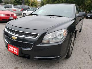 Used 2012 Chevrolet Malibu LT/4Cyl./167K/Bluetooth/Cruise Control for sale in Scarborough, ON