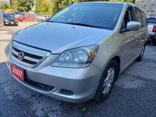 Used 2007 Honda Odyssey EX-L/8-Pass/Heated Leather Seats/Sunroof/Alloys for sale in Scarborough, ON