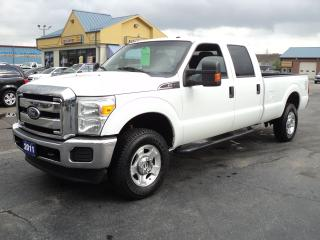 Used 2011 Ford F-350 XLT CrewCab 4X4 6.2L 8ftBox for sale in Brantford, ON