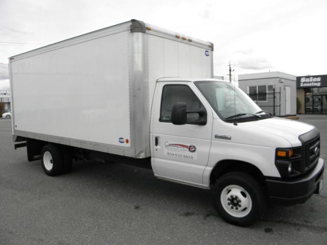 2016 Ford E-450 4500 Cube Van 6.8L V10