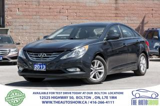 Used 2013 Hyundai Sonata GLS Sunroof Alloys Fogs Certified Clean for sale in Bolton, ON
