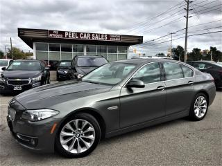 Used 2014 BMW 5 Series 2014 BMW528i|NAVI|SUNROOF|NO ACCIDENT| for sale in Mississauga, ON