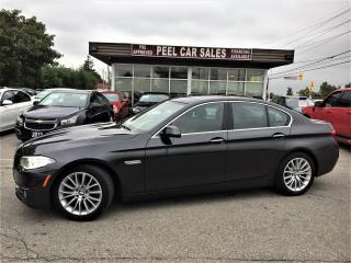 Used 2014 BMW 5 Series EXECUTIVE|NAVI|ROOF| for sale in Mississauga, ON