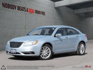 Used 2012 Chrysler 200 Limited*Heated Leather*NAV*Bluetooth*Sunroof*Ultra for sale in Mississauga, ON