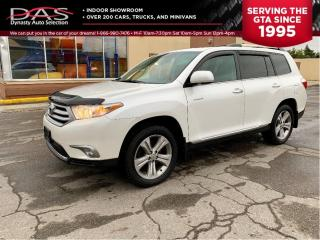 Used 2012 Toyota Highlander LIMITED NAVIGATION/REAR CAMERA/7 PASS for sale in North York, ON