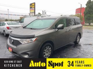 Used 2011 Nissan Quest S/ LOW, LOW KMS/PRICED-QUICK SALE ! for sale in Kitchener, ON