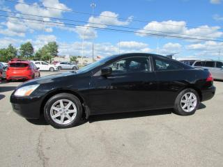 Used 2003 Honda Accord EX V6 coupe Auto Alloys Sunroof Leather Certified 2Yr Warranty for sale in Milton, ON