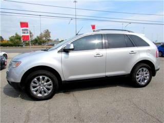 Used 2009 Ford Edge Limited AWD LEATHER BLUETOOTH CERTIFIED 2 YRS WARRANTY for sale in Milton, ON