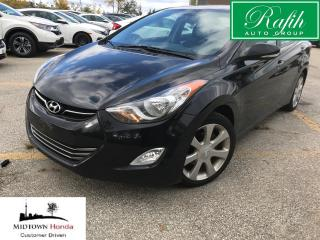 Used 2011 Hyundai Elantra LIMITED-NAVIGATION-LEATHER-SUNROOF for sale in North York, ON